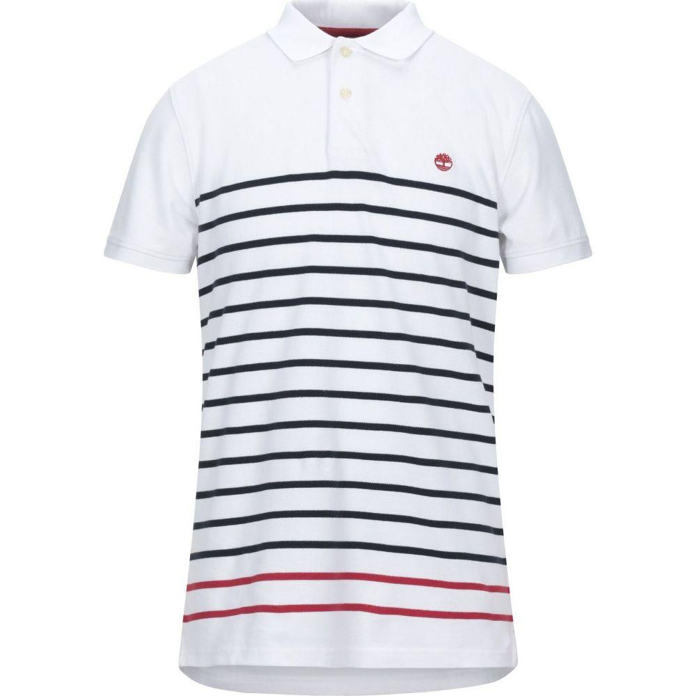 ティンバーランド TIMBERLAND メンズ ポロシャツ トップス【polo shirt】White