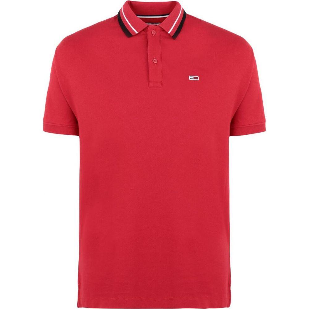 トミー ジーンズ TOMMY JEANS メンズ ポロシャツ トップス【tjm tommy classics s polo shirt】Red