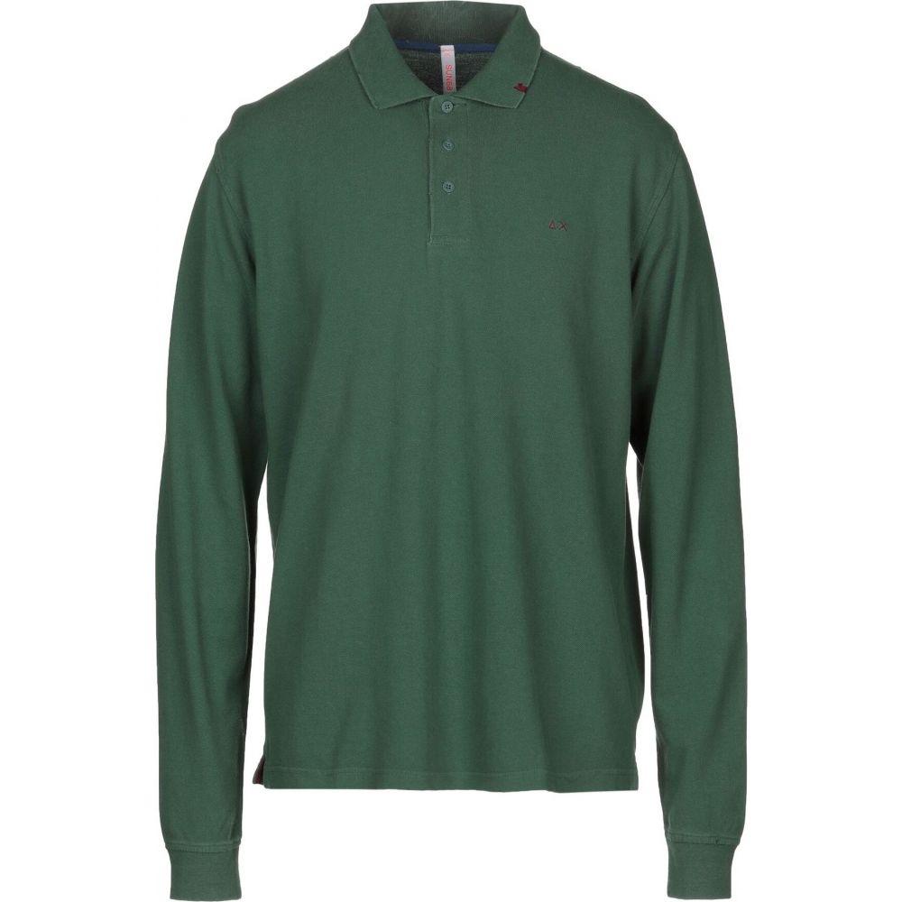サン シックスティーエイト SUN 68 メンズ ポロシャツ トップス【polo shirt】Green