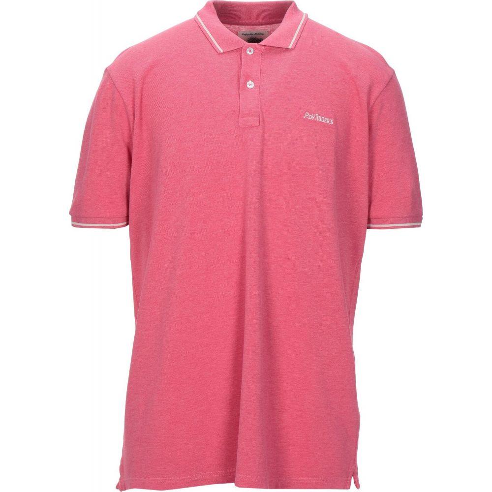 ロイロジャース ROY ROGER'S メンズ ポロシャツ トップス【polo shirt】Fuchsia