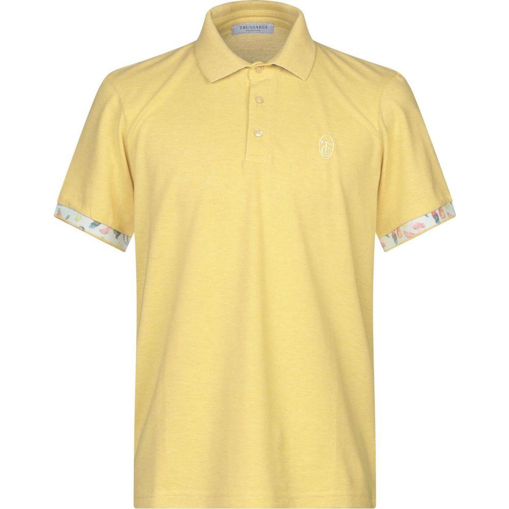 トラサルディ TRUSSARDI メンズ ポロシャツ トップス【polo shirt】Yellow