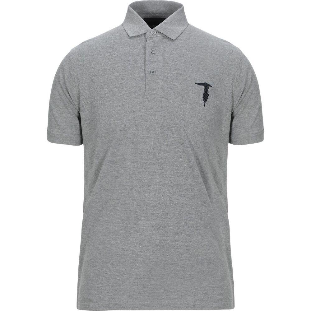 トラサルディ TRU TRUSSARDI メンズ ポロシャツ トップス【polo shirt】Grey