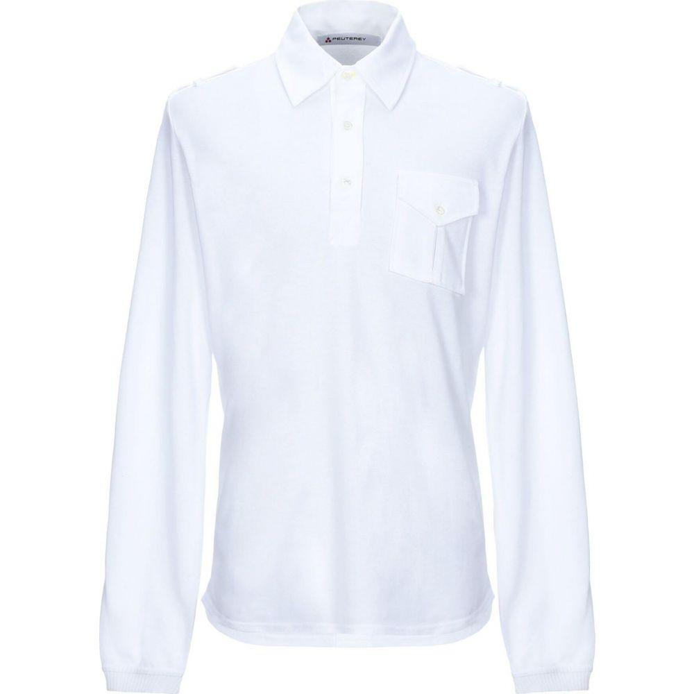 ピューテリー PEUTEREY メンズ ポロシャツ トップス【polo shirt】White