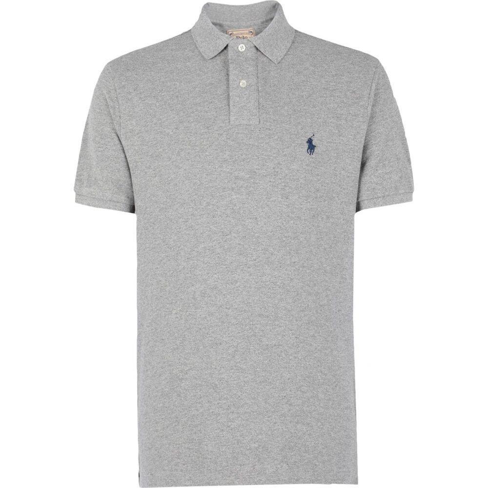 ラルフ ローレン POLO RALPH LAUREN メンズ ポロシャツ トップス【custom slim fit mesh polo shirt】Grey