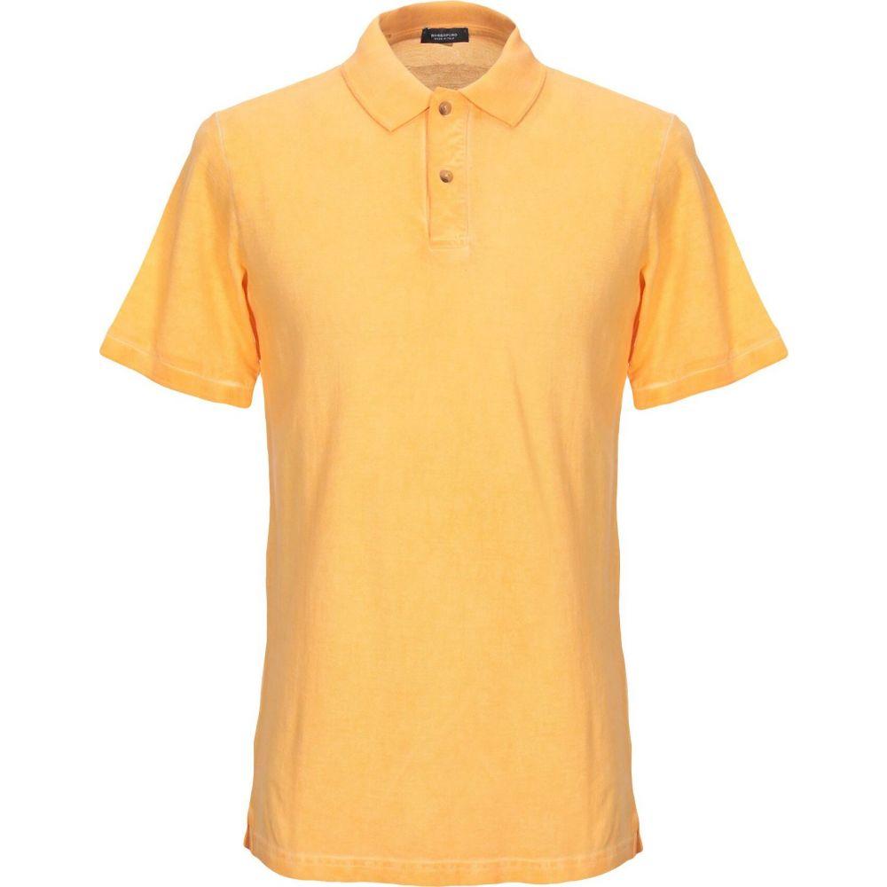 ロッソプーロ ROSSOPURO メンズ ポロシャツ トップス【polo shirt】Apricot