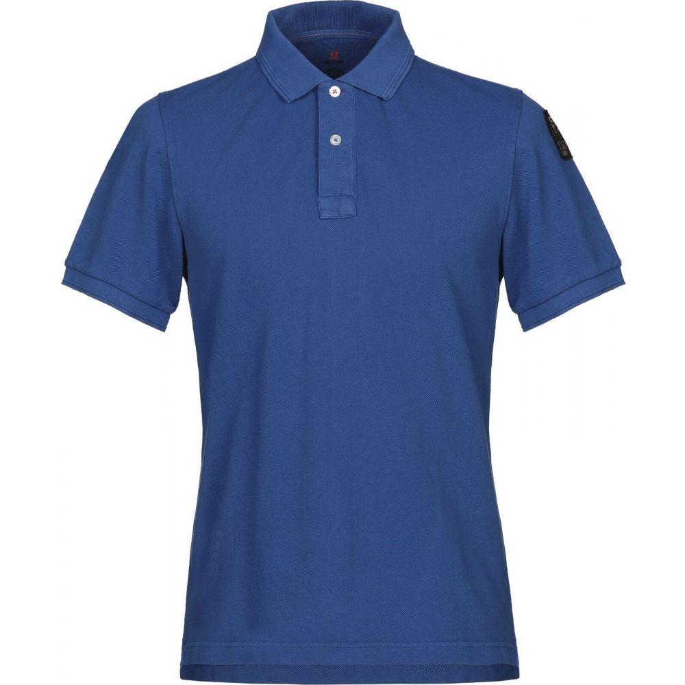 パラジャンパーズ PARAJUMPERS メンズ ポロシャツ トップス【polo shirt】Bright blue