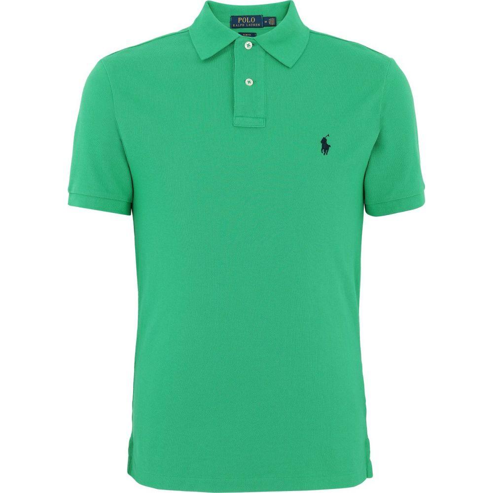 ラルフ ローレン POLO RALPH LAUREN メンズ ポロシャツ トップス【slim fit mesh polo shirt】Green