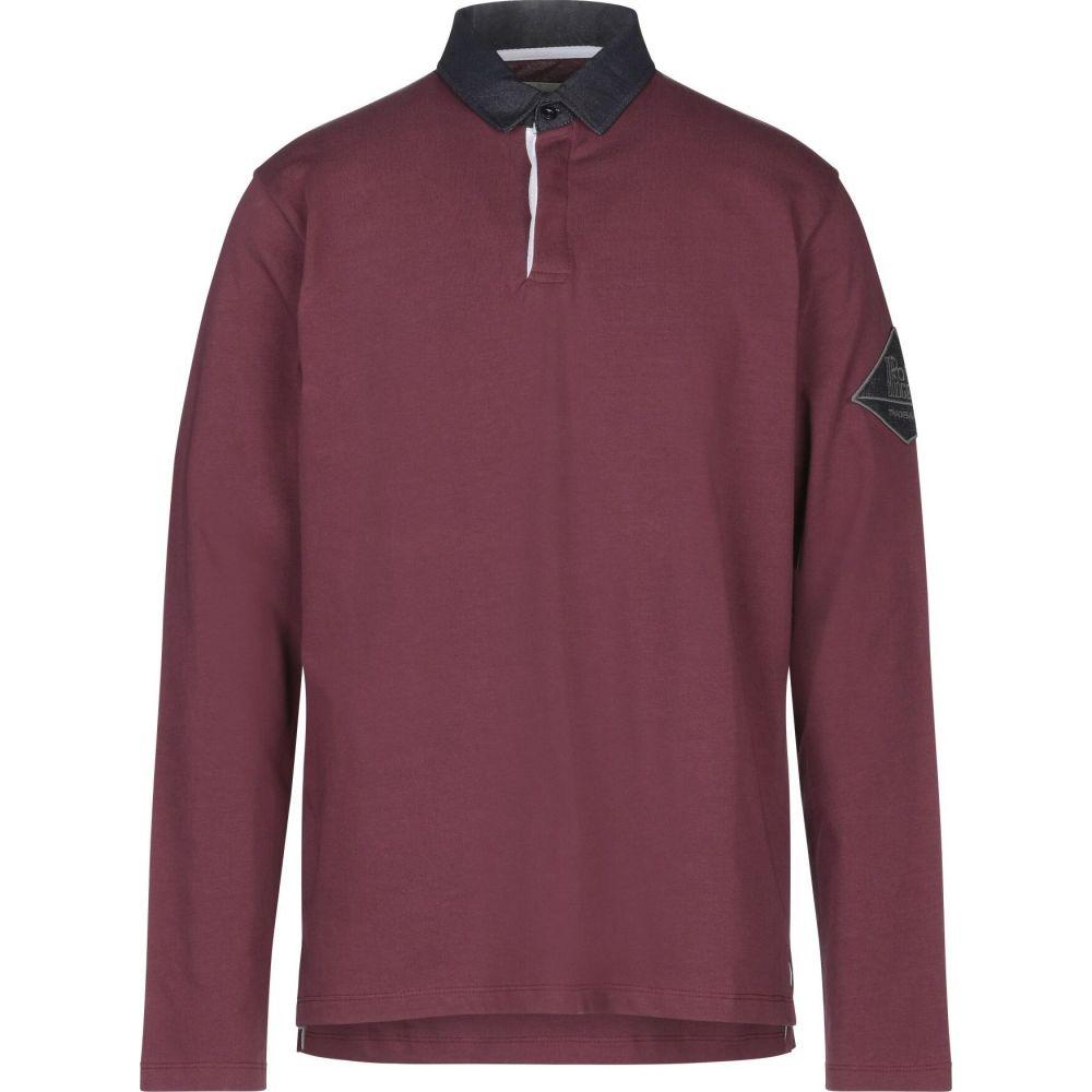 ロイロジャース ROY ROGER'S メンズ ポロシャツ トップス【polo shirt】Maroon