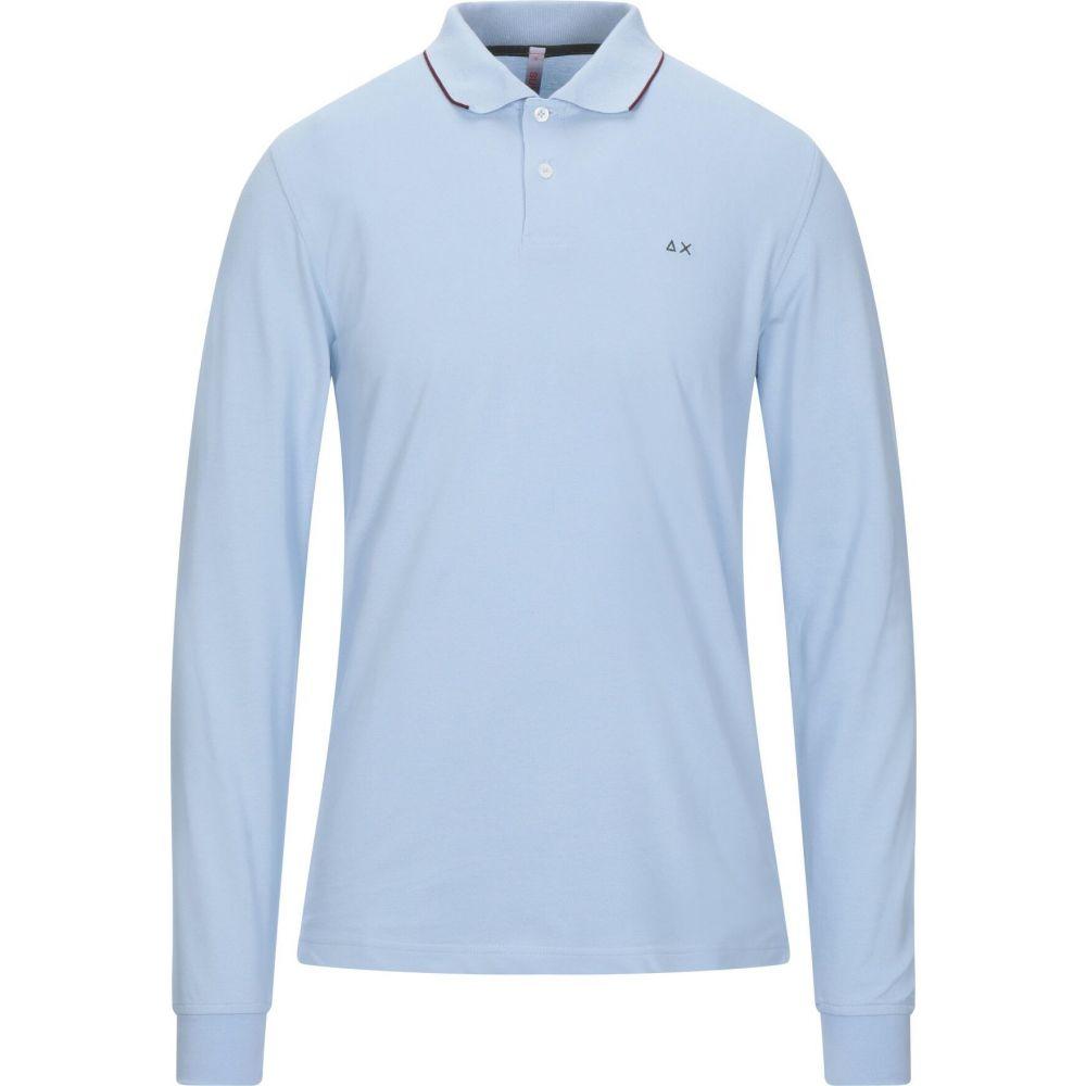 サン シックスティーエイト SUN 68 メンズ ポロシャツ トップス【polo shirt】Sky blue