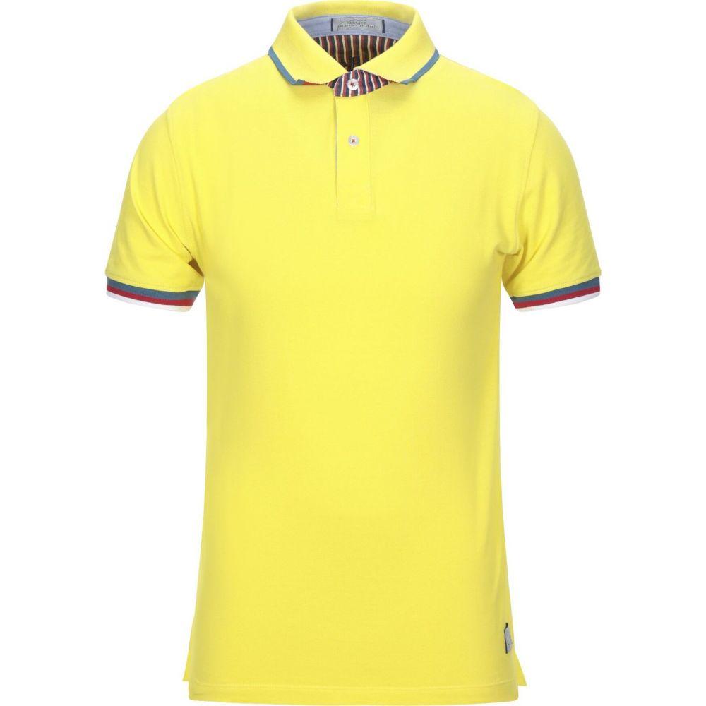 イエスズィー バイ エッセンツァ YES ZEE by ESSENZA メンズ ポロシャツ トップス【polo shirt】Yellow