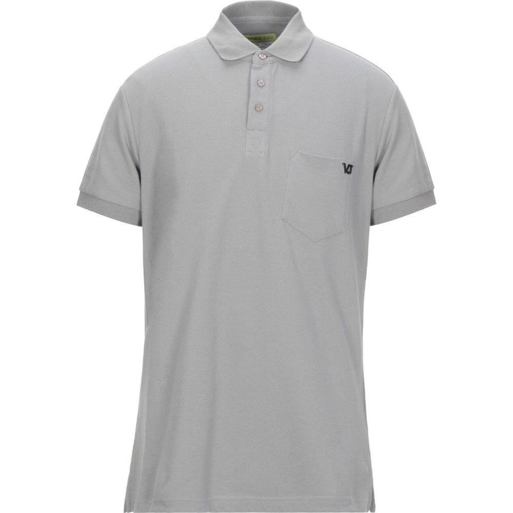 ヴェルサーチ VERSACE JEANS メンズ ポロシャツ トップス【polo shirt】Grey