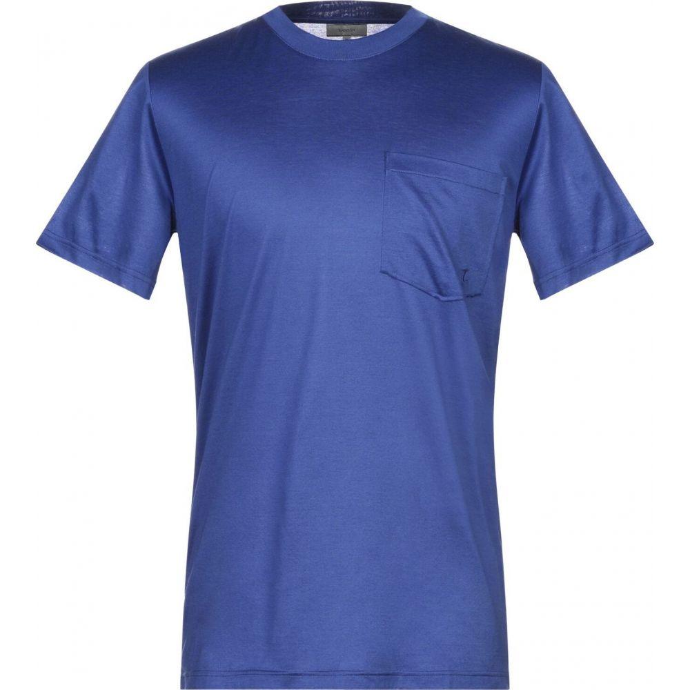 ランバン LANVIN メンズ Tシャツ トップス【t-shirt】Blue