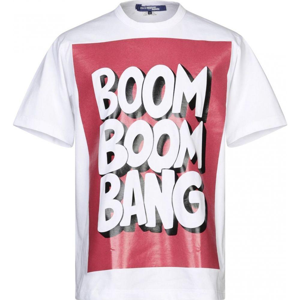 ジュンヤ ワタナベ JUNYA WATANABE メンズ Tシャツ トップス【t-shirt】White
