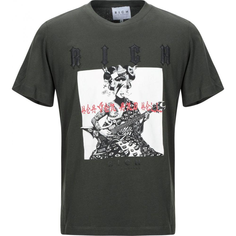 ジョン リッチモンド JOHN RICHMOND メンズ Tシャツ トップス【t-shirt】Military green