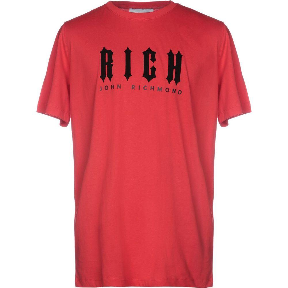 ジョン リッチモンド JOHN RICHMOND メンズ Tシャツ トップス【t-shirt】Red
