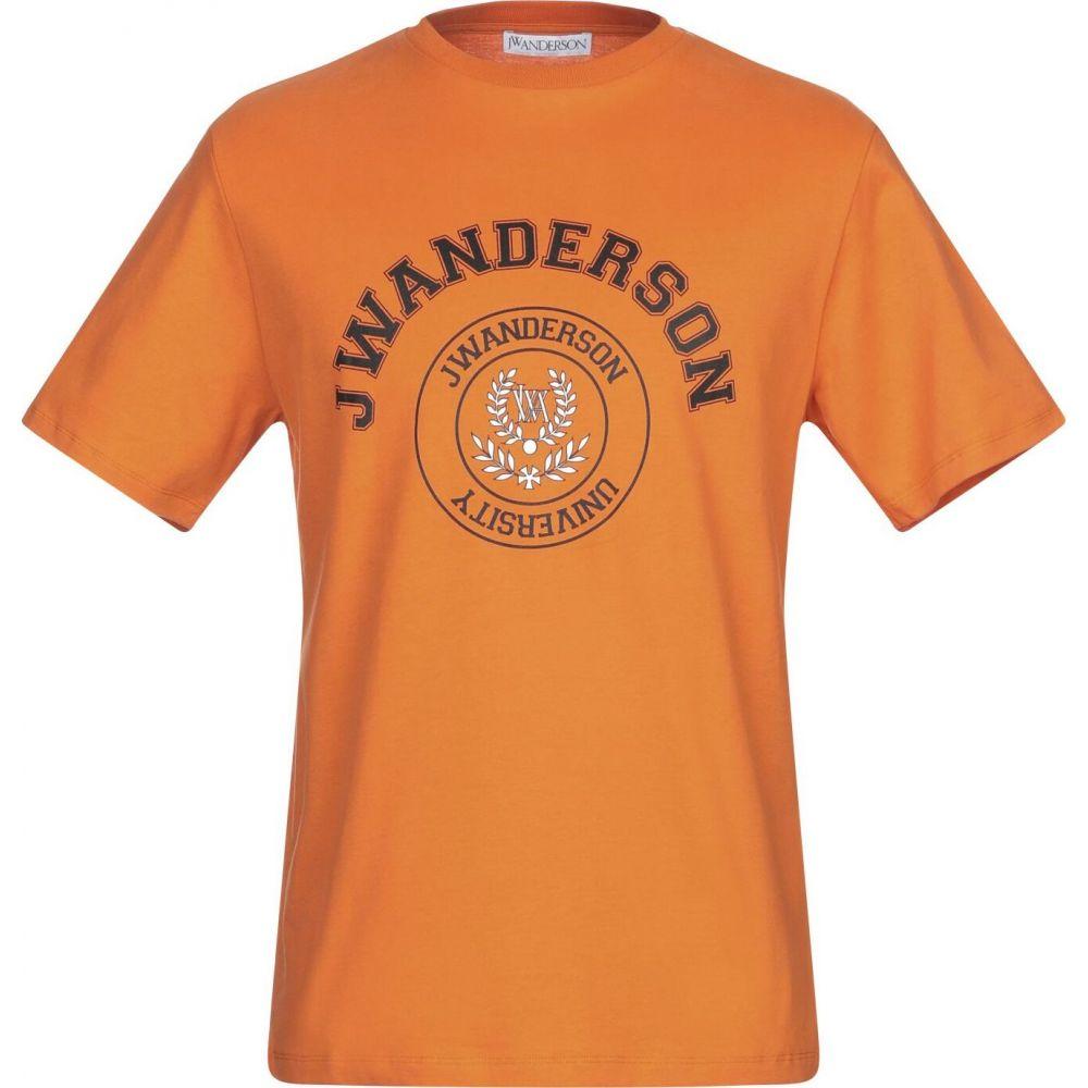 J.W.アンダーソン JW ANDERSON メンズ Tシャツ トップス【t-shirt】Orange