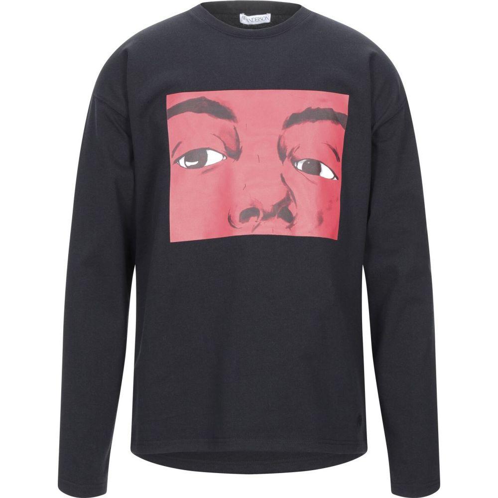 J.W.アンダーソン JW ANDERSON メンズ Tシャツ トップス【t-shirt】Black