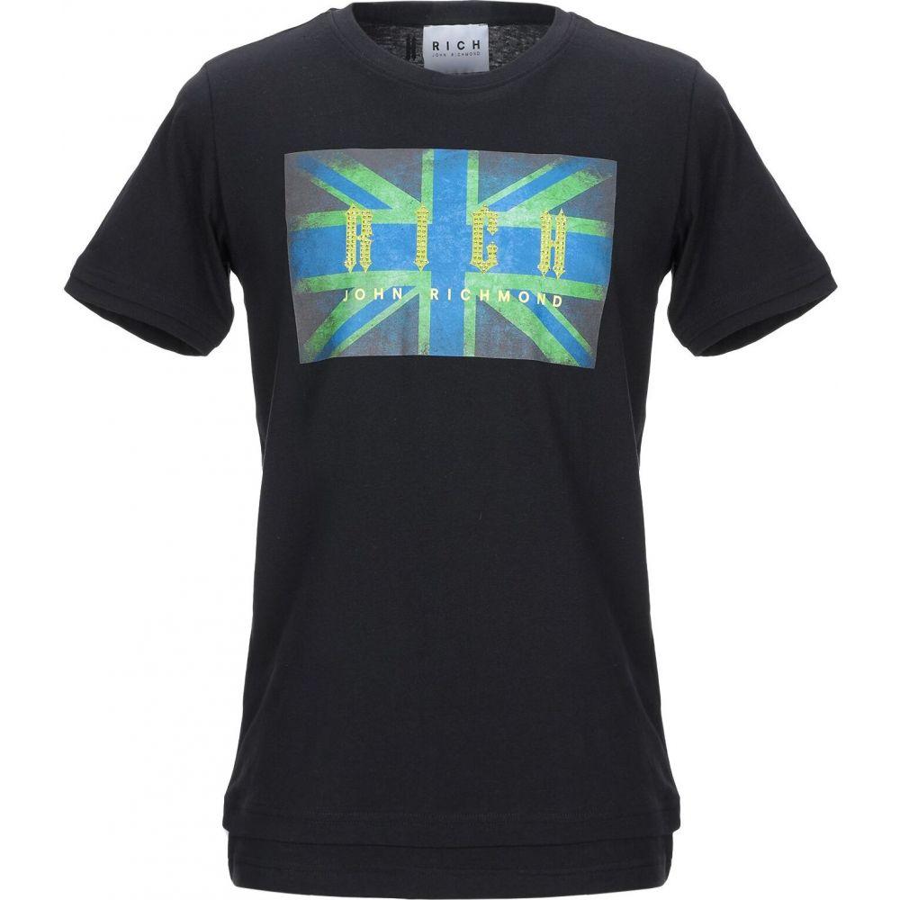 ジョン リッチモンド JOHN RICHMOND メンズ Tシャツ トップス【t-shirt】Black