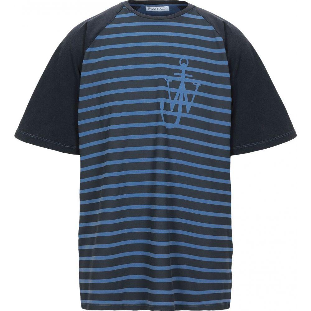 J.W.アンダーソン JW ANDERSON メンズ Tシャツ トップス【t-shirt】Dark blue