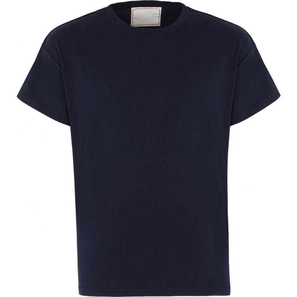 ジーネリカ JEANERICA メンズ Tシャツ トップス【t-shirt】Dark blue