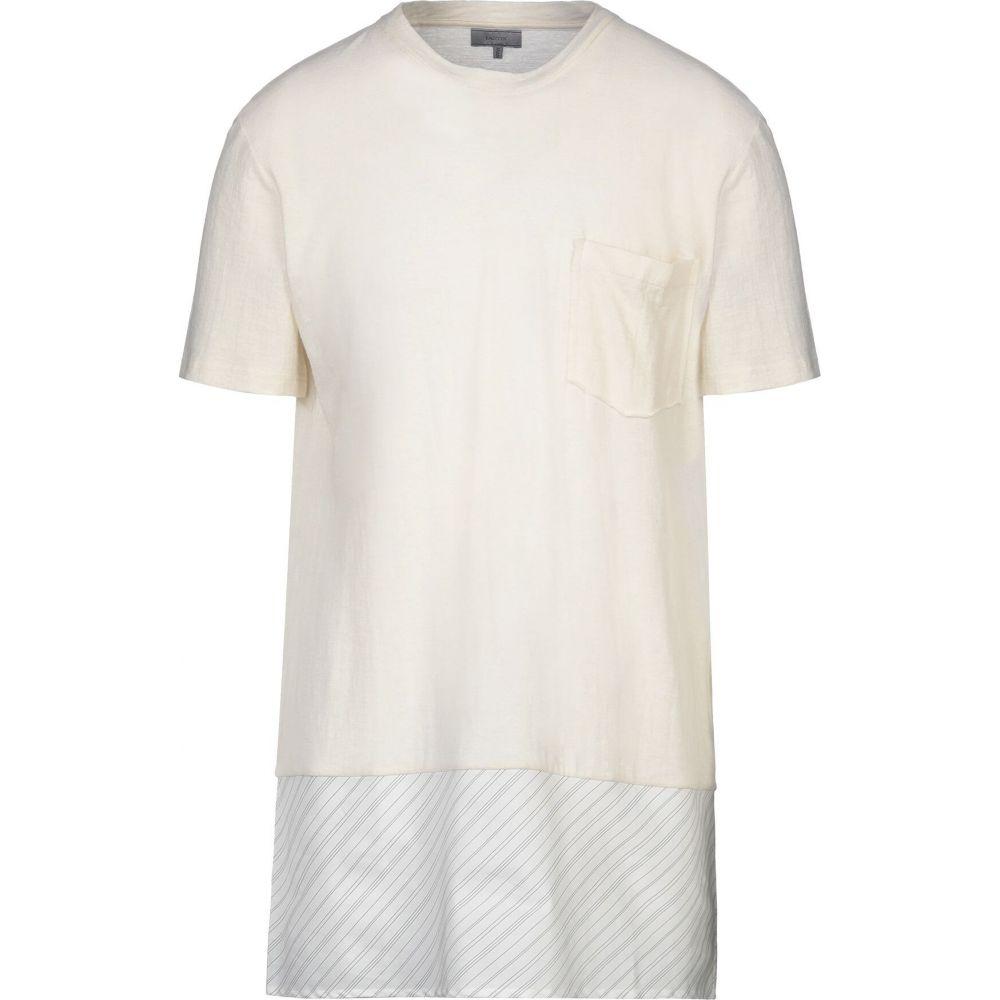 ランバン LANVIN メンズ Tシャツ トップス【t-shirt】Ivory
