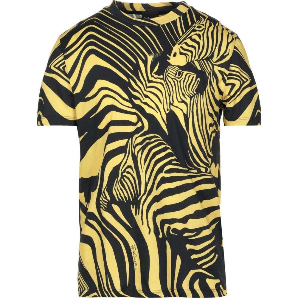 ジャスト カヴァリ JUST CAVALLI メンズ Tシャツ トップス【t-shirt】Yellow