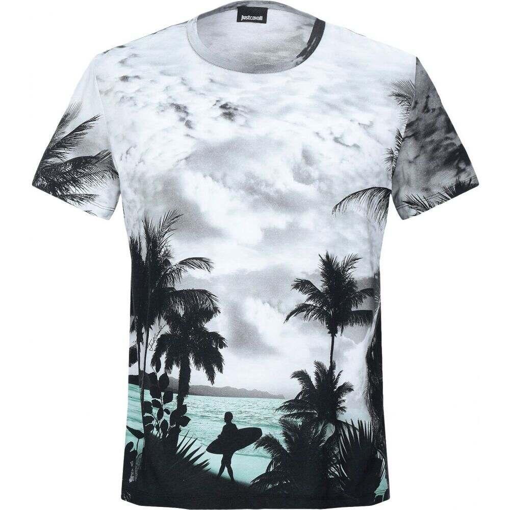 ジャスト カヴァリ JUST CAVALLI メンズ Tシャツ トップス【t-shirt】Grey