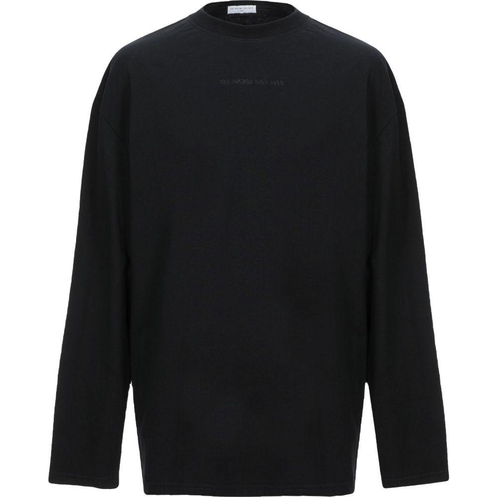 インノミネイト IH NOM UH NIT メンズ Tシャツ トップス【t-shirt】Black
