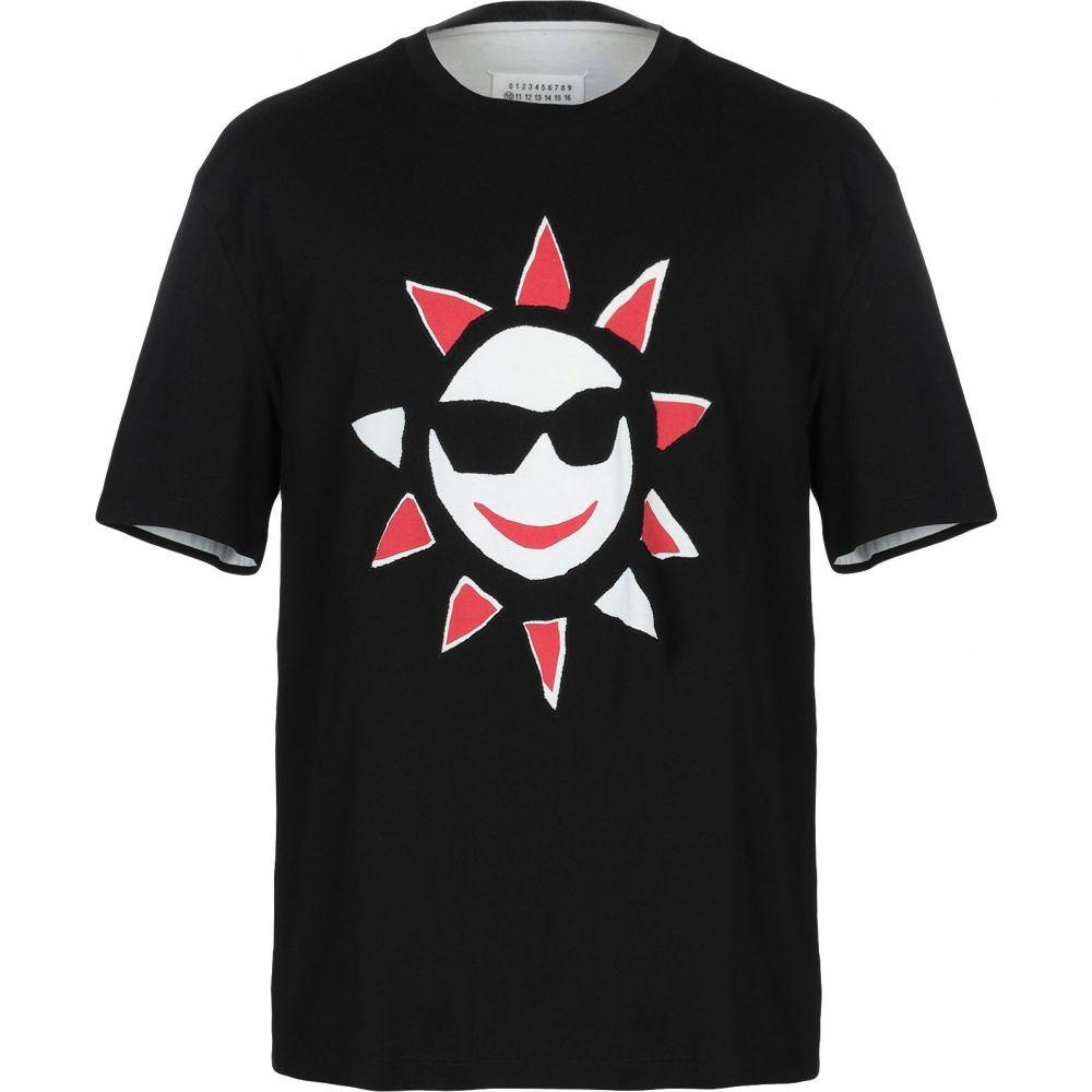メゾン マルジェラ MAISON MARGIELA メンズ Tシャツ トップス【t-shirt】Black