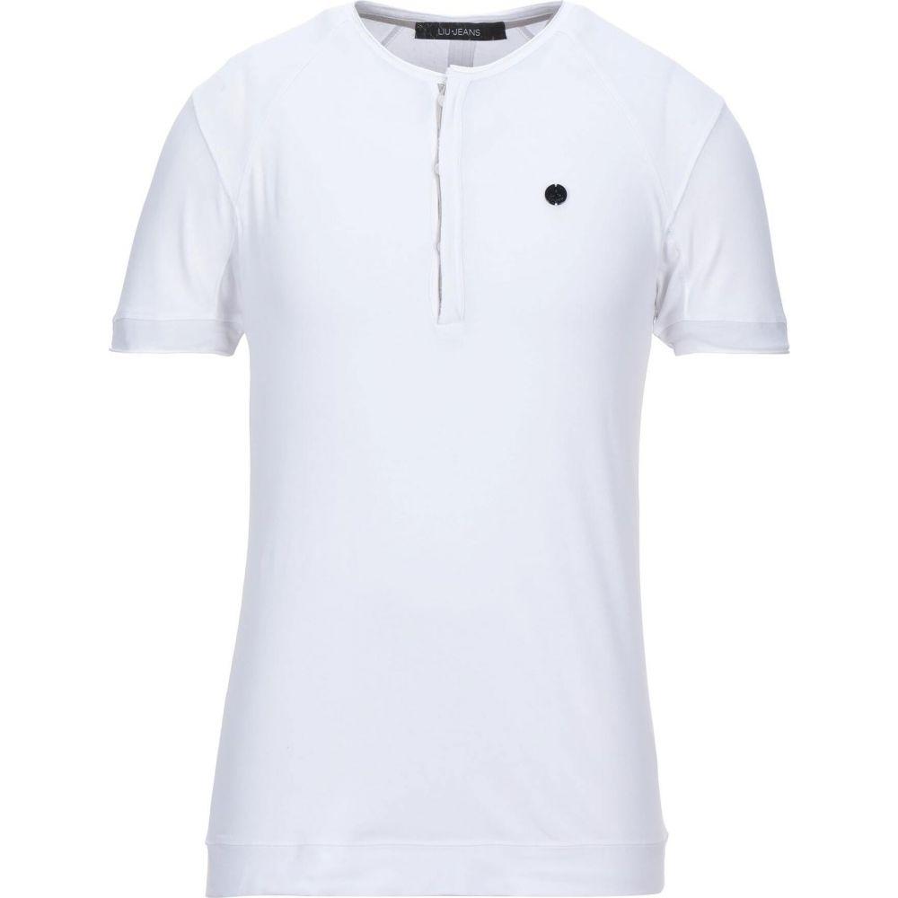 リウジョー LIU JO MAN メンズ Tシャツ トップス【t-shirt】White