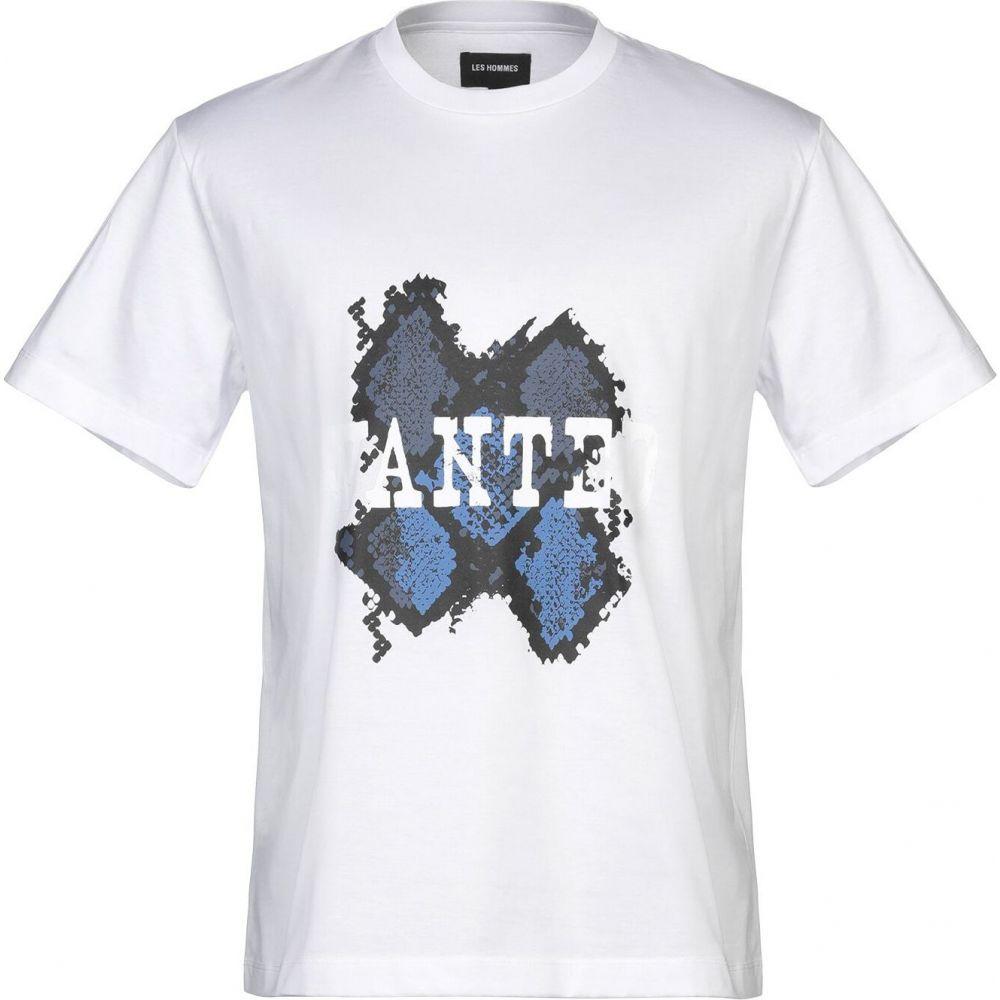 レゾム LES HOMMES メンズ Tシャツ トップス【t-shirt】White