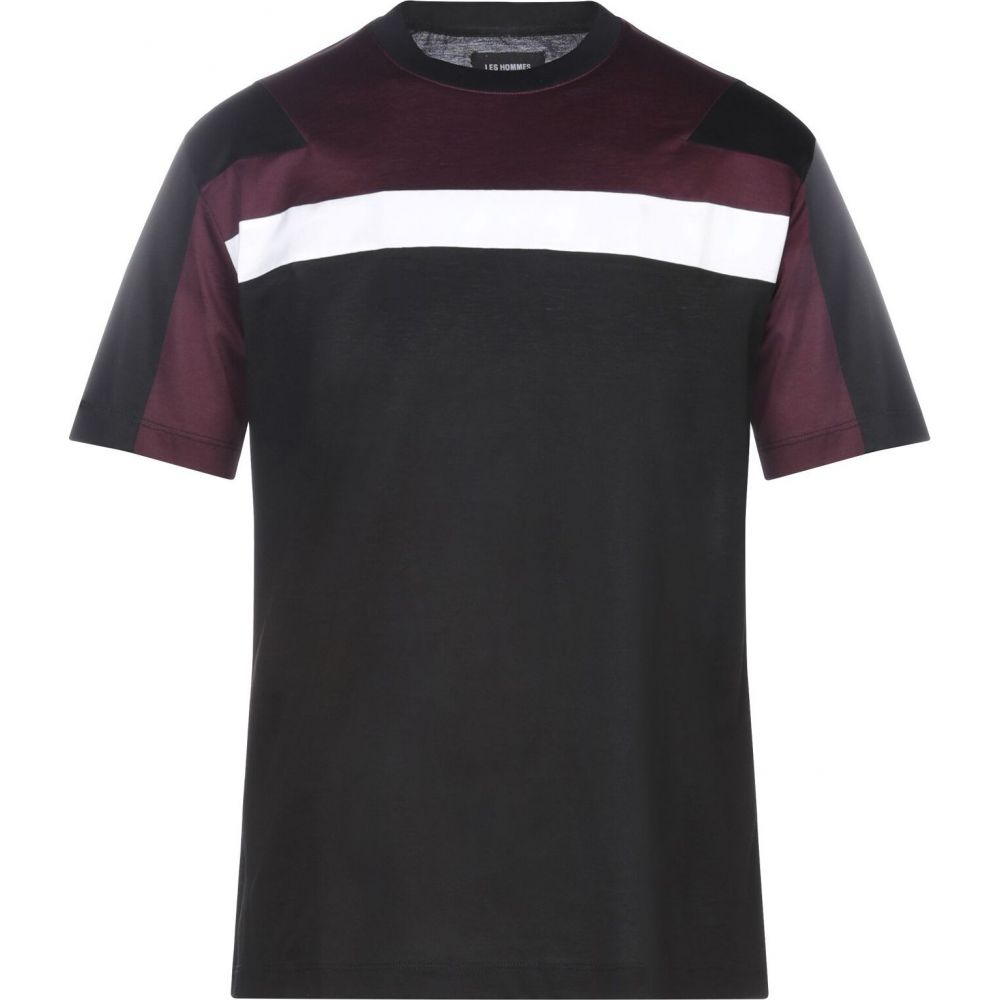 レゾム LES HOMMES メンズ Tシャツ トップス【t-shirt】Black