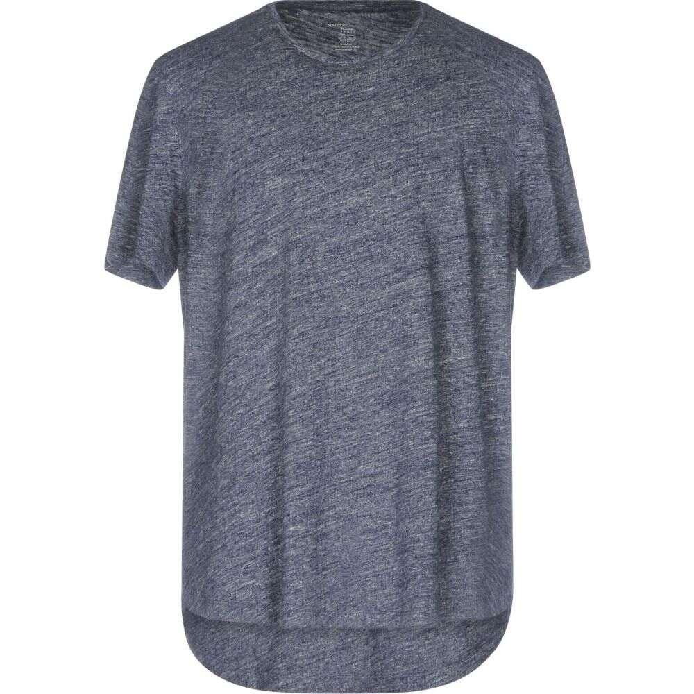 マジェスティック MAJESTIC FILATURES メンズ Tシャツ トップス【t-shirt】Blue