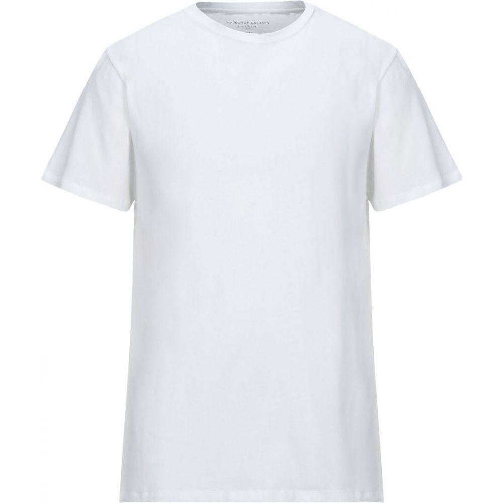 マジェスティック MAJESTIC FILATURES メンズ Tシャツ トップス【t-shirt】White