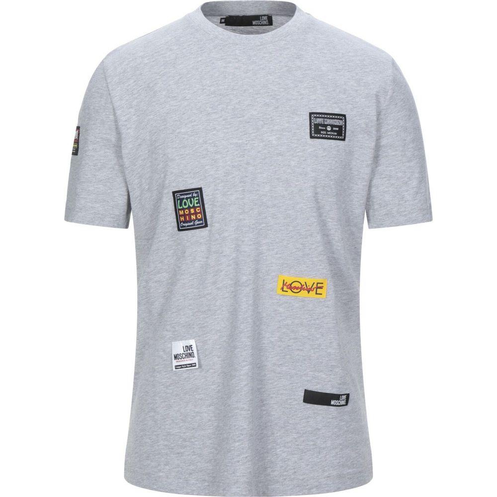 モスキーノ LOVE MOSCHINO メンズ Tシャツ トップス【t-shirt】Light grey