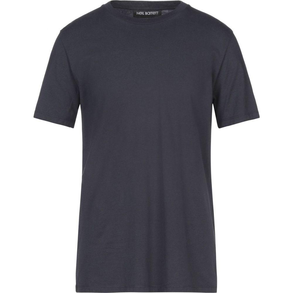 ニール バレット NEIL BARRETT メンズ Tシャツ トップス【t-shirt】Dark blue