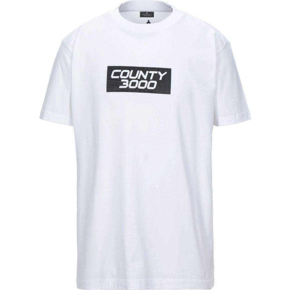 マルセロバーロン MARCELO BURLON メンズ Tシャツ トップス【t-shirt】White