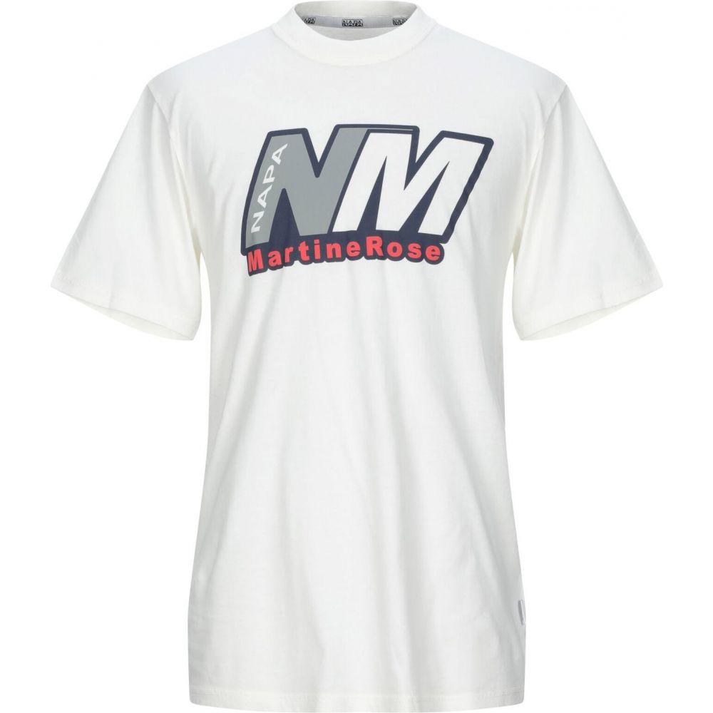 ナパピリ NAPAPIJRI メンズ Tシャツ トップス【t-shirt】Ivory