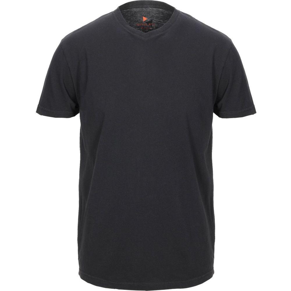 マニュエル リッツ MANUEL RITZ メンズ Tシャツ トップス【t-shirt】Black