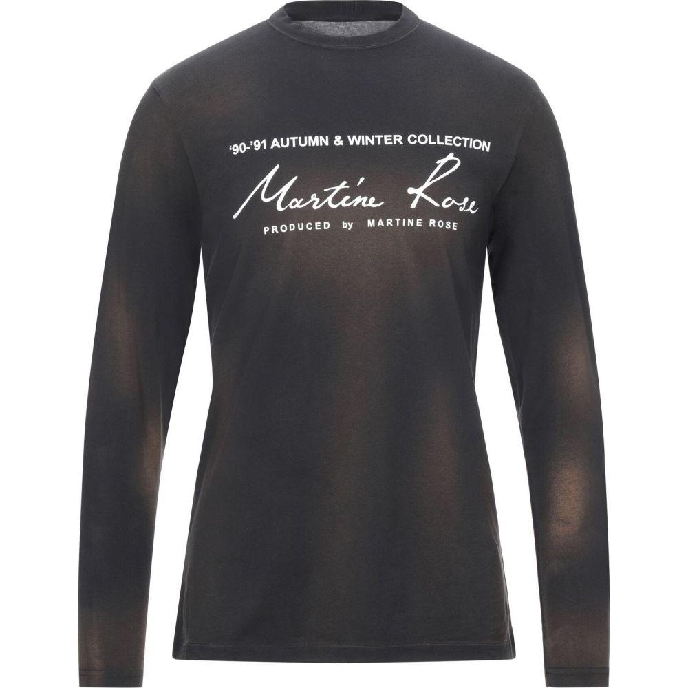 マーティン ローズ MARTINE ROSE メンズ Tシャツ トップス【t-shirt】Black