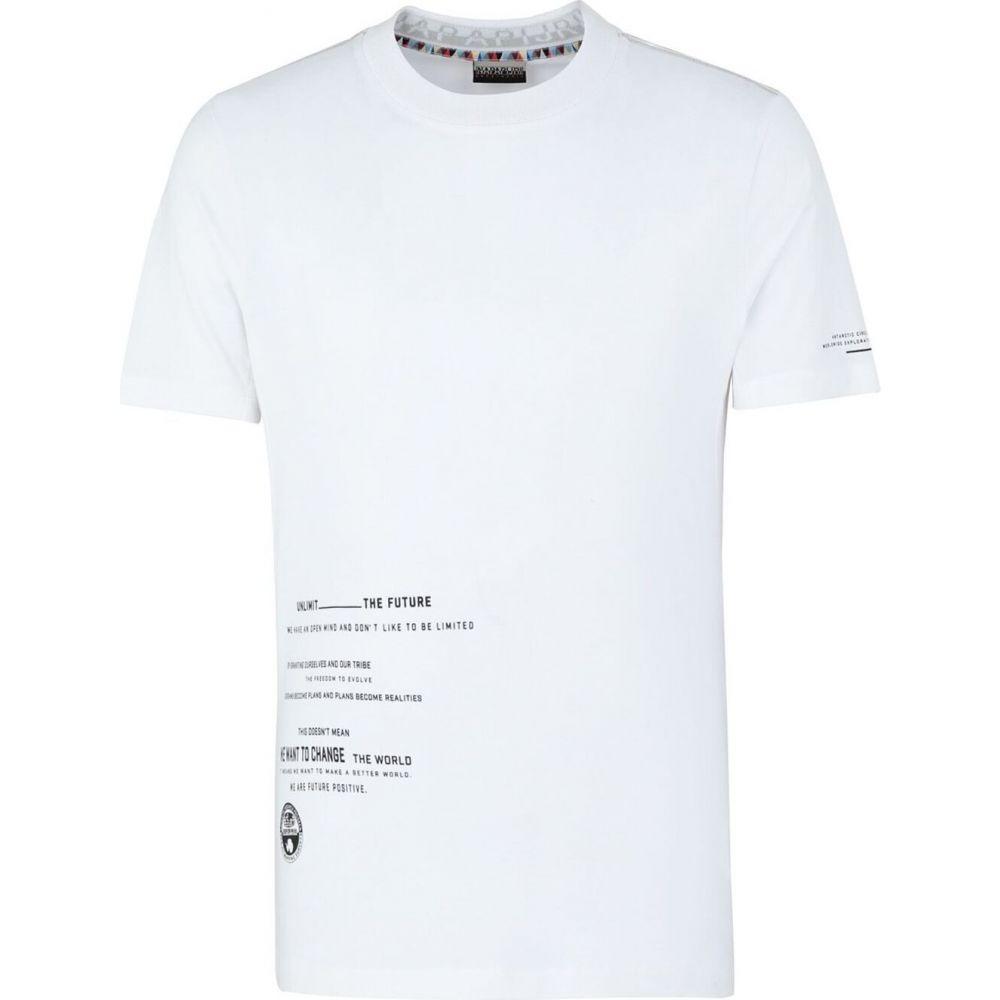 Tシャツ トップス【salme NAPAPIJRI ナパピリ メンズ logo】White