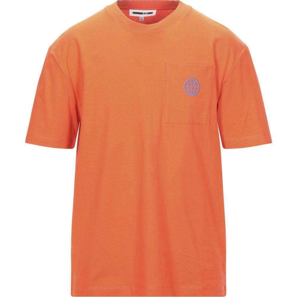 アレキサンダー マックイーン McQ Alexander McQueen メンズ Tシャツ トップス【t-shirt】Orange