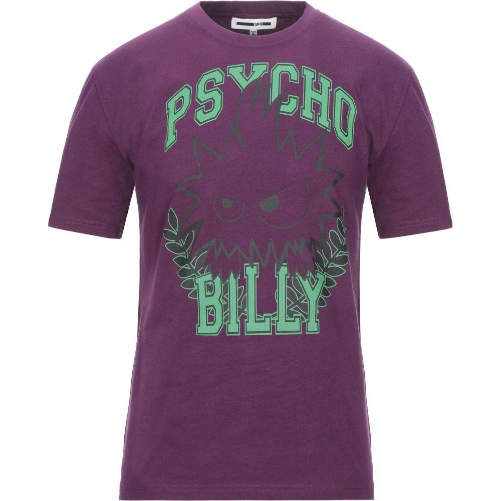 アレキサンダー マックイーン McQ Alexander McQueen メンズ Tシャツ トップス【t-shirt】Dark purple