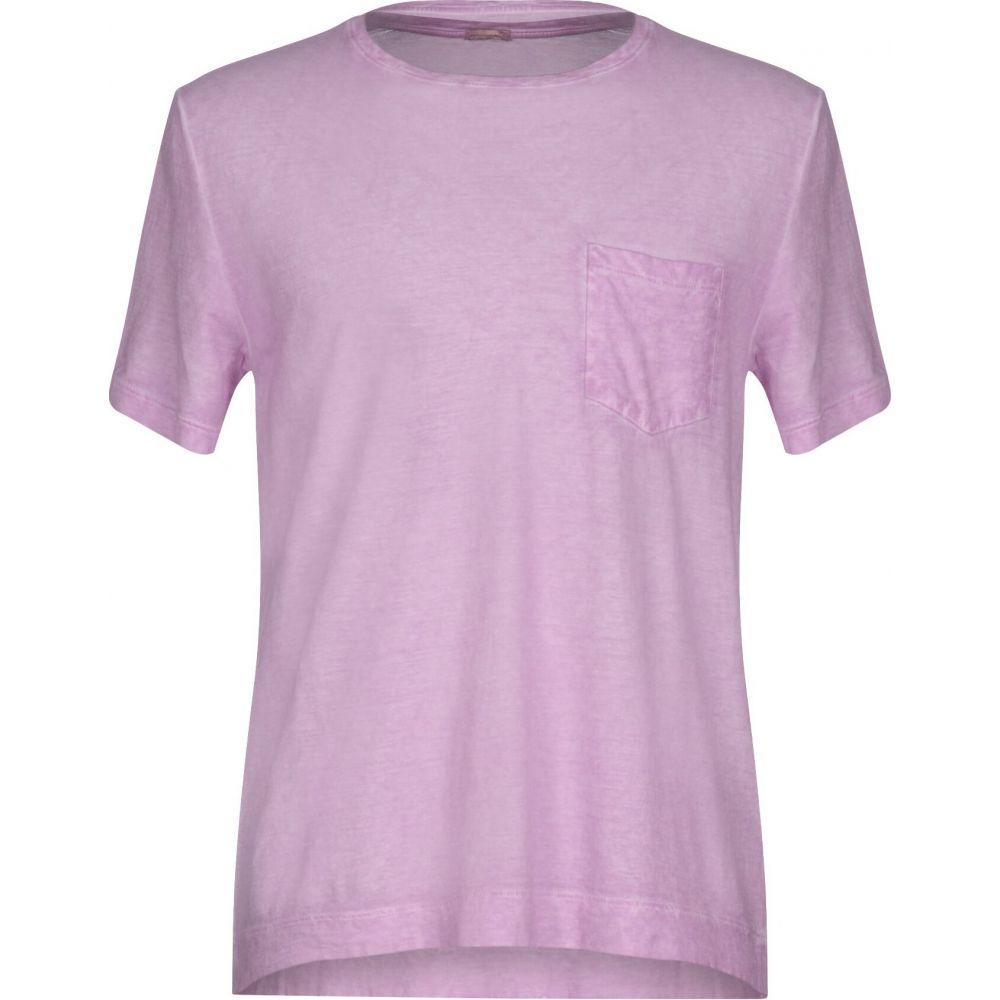 マッシモ アルバ MASSIMO ALBA メンズ Tシャツ トップス【t-shirt】Light purple