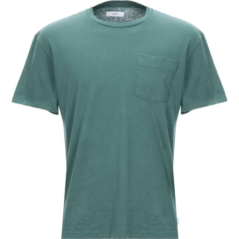 マウロ グリフォーニ MAURO GRIFONI メンズ Tシャツ トップス【t-shirt】Green