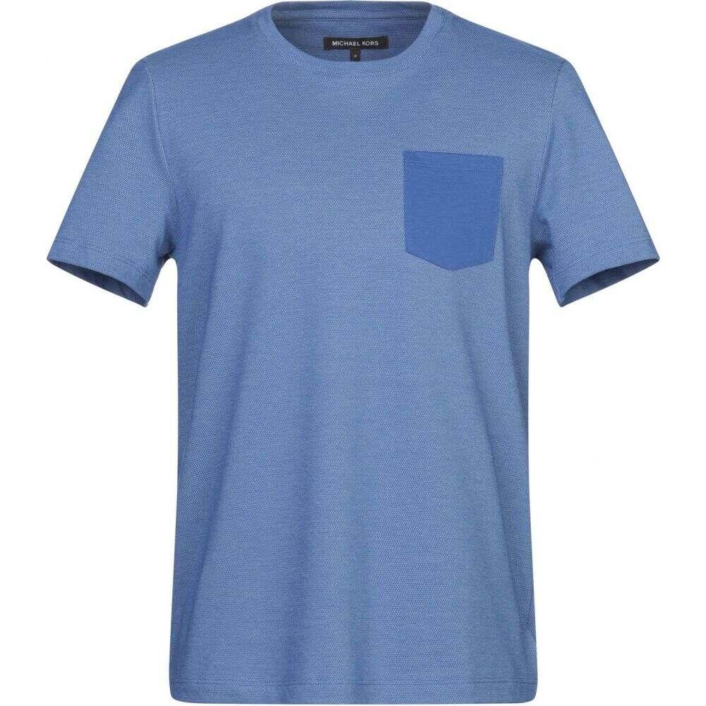 マイケル コース MICHAEL KORS MENS メンズ Tシャツ トップス【t-shirt】Blue
