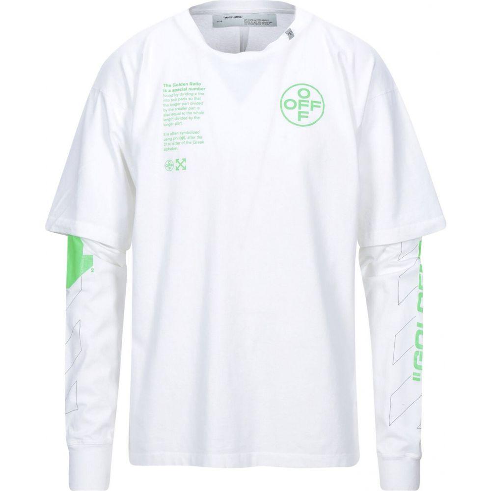 オフホワイト OFF-WHITE' メンズ Tシャツ トップス【t-shirt】White