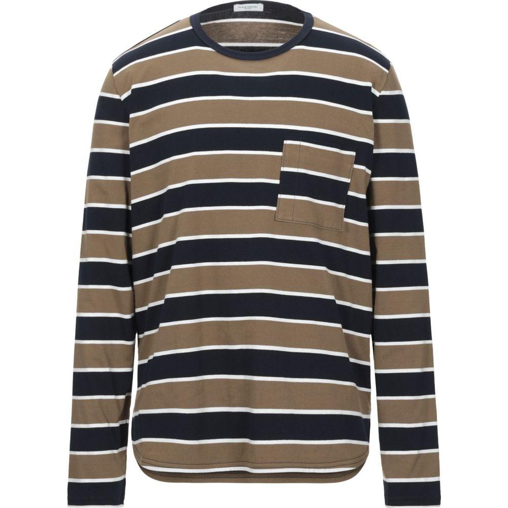 パオロ ペコラ PAOLO PECORA メンズ Tシャツ トップス【t-shirt】Khaki