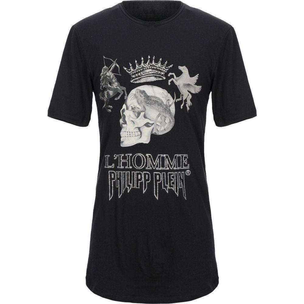 フィリップ プレイン PHILIPP PLEIN メンズ Tシャツ トップス【t-shirt】Black