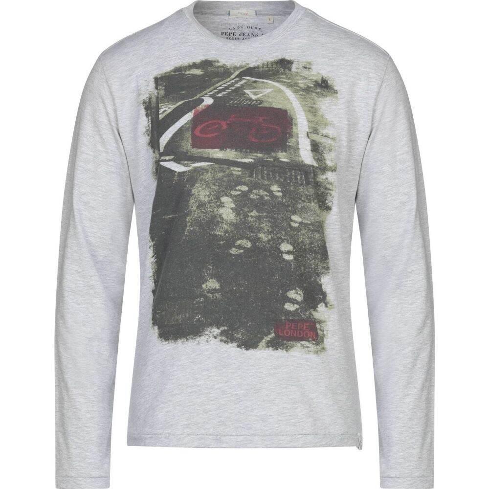 ペペジーンズ PEPE JEANS メンズ Tシャツ トップス【t-shirt】Grey